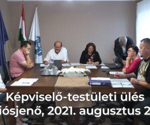 Képviselő-testületi ülés 2021. augusztus 26.