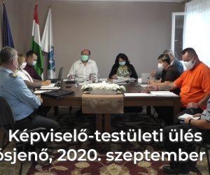 Képviselő-testületi ülés 2020. szeptember 24.