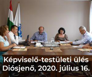 Képviselő-testületi ülés 2020.07.16.