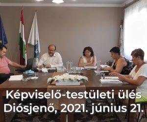 Képviselő-testületi ülés 2021. június 21.