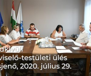 Rendkívüli képviselő-testületi ülés 2020.07.29.